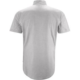 Klättermusen M's Lofn SS Shirt Grey Melange